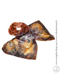 brown-butterfly-hand-painted-silk-scarf-tapytas-silk-salikas-rudas-drugeliai-11