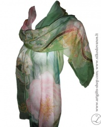 peonies-hand-painted-silk-scarf-green-pink-lgifts