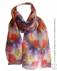 shibori-silk-scarf-hand-dyed-hand-painted-silk-scarf-brown-red-pink-yellow-blue-2