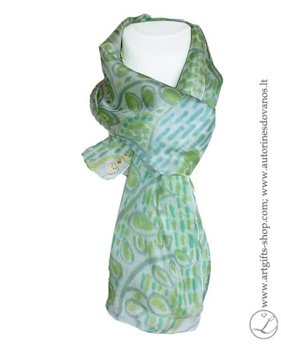 hand-painted-silk-scarf-blue-green-flower-hand-made-gifts-3