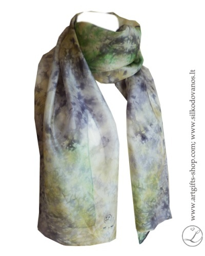 shibori-green-yellow-grey-hand-dyed-silk-scarf-1