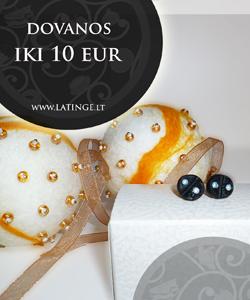 Dovanos iki 10 eur